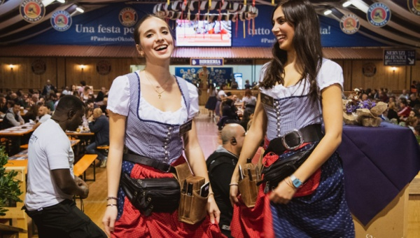 Il primo Paulaner Oktoberfest Alessandria verso il gran finale con il Family Day e la Santa Messa