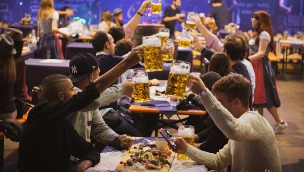 Lo spettacolo piromusicale di questa sera chiuderà il primo Paulaner Oktoberfest Alessandria